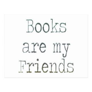 Books Are My Friends Postcard