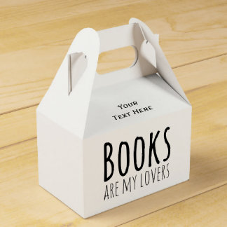 Books are my Lovers Favour Box