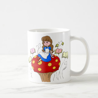 Books are my Wonderland! Coffee Mugs