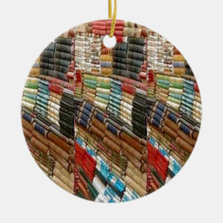 BOOKS Bookworm Library Read Learn Bookshelf GIFTS Christmas Ornament