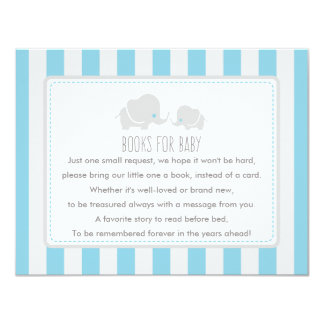 Books for baby - Baby Shower Game Card