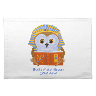 Books Make History Come Alive Placemat