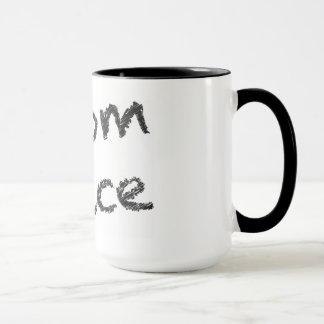 Boom Juice - Black Writing Mug