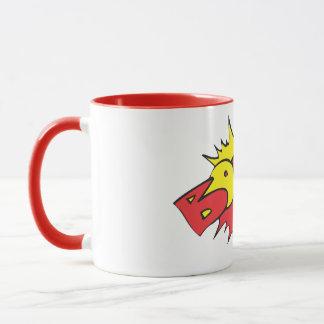 boom logo mug