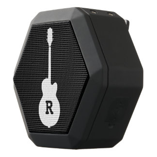 Boombot REX with personalised guitar Black Bluetooth Speaker