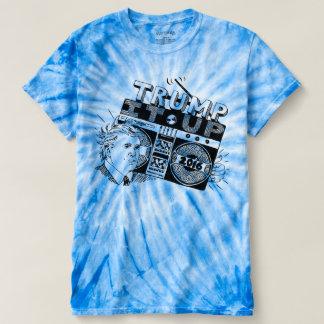 Boombox TRUMP IT UP Blue Tie-Dye TShirt