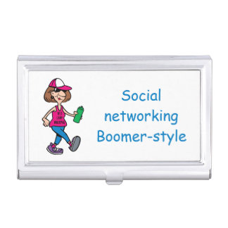 Boomer-style Business Card Holder