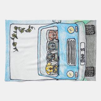 Boo's Van Tea Towel