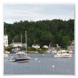 "Boothbay Harbor 6"" x 6"", Kodak Professional Paper Photo Print"