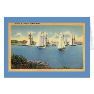BoothBay Harbor Card