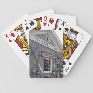 """Boothbay Harbor"" Classic Playing Cards"