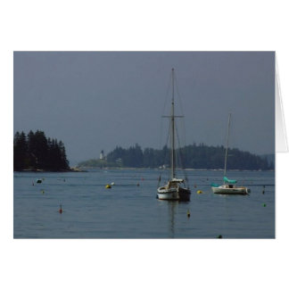 Boothbay Harbor, Maine Card