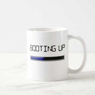 Booting Up Coffee Mugs