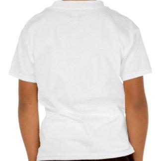 bootprint with ribbon logo t shirt
