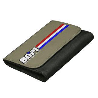 "BOPI ""G.I. Joe"" Black Medium Leather Wallet"