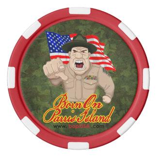 BOPI Parris Island Poker Chips