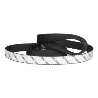 Border 1 black dog leash