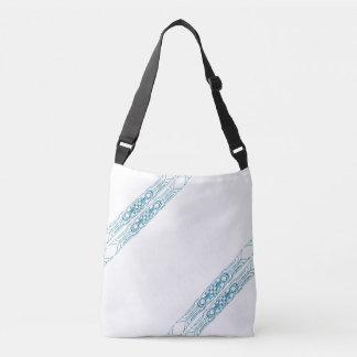 Border 1 blue crossbody bag