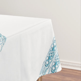 Border 1 blue tablecloth