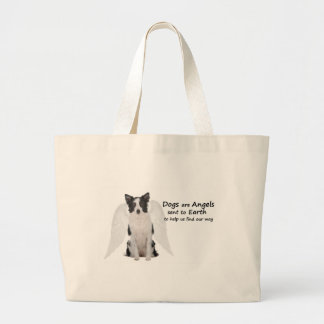 Border Collies Are Angels Tote