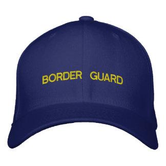 BORDER GUARD EMBROIDERED BASEBALL CAPS