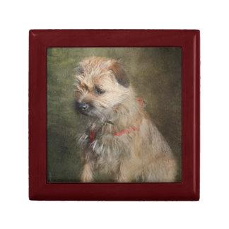 Border Terrier Gift Box