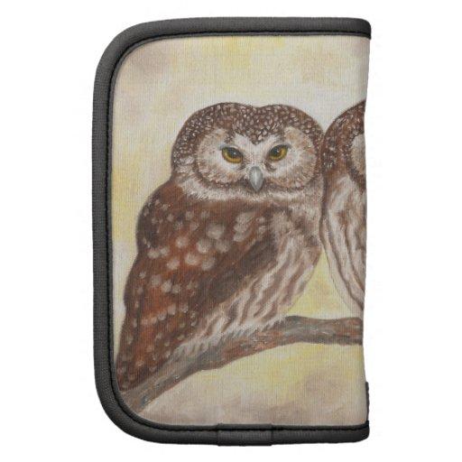 Boreal Owls mini folio Folio Planners