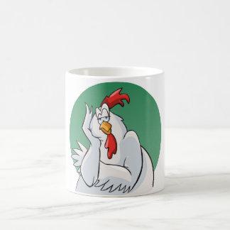 Bored rooster mug