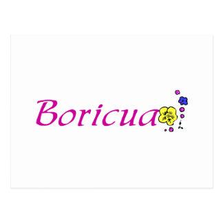 Boricua Postcard
