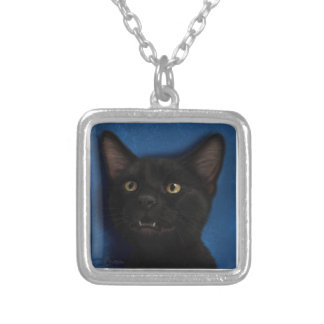 Boris Silver Plated Necklace