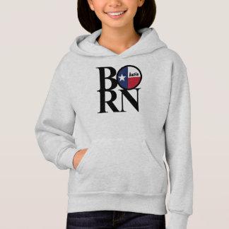 BORN Austin Texas Girls Hooded Sweatshirt