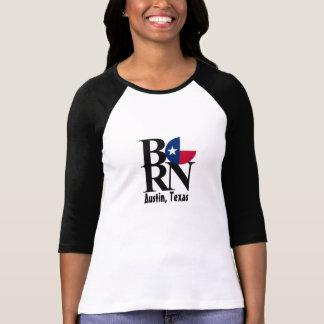 BORN Austin TX Womens Long Sleeve Shirt