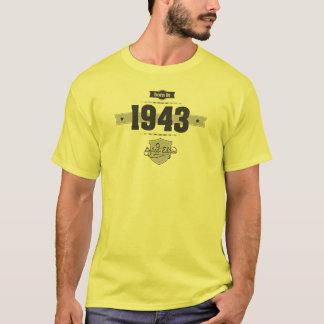 Born in 1943 (Dark&Lightgrey) T-Shirt