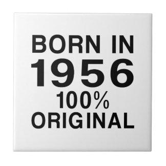 Born in 1956 small square tile