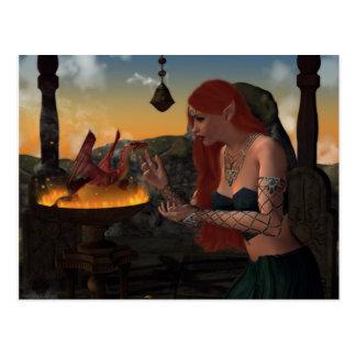 Born of Fire Postcard