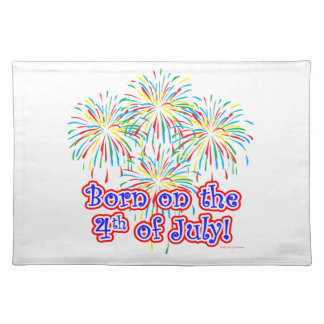 Born on the 4th of July Placemat