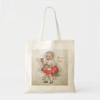 Born To Bake Girl Tote Bag