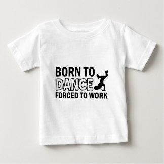 born to Breakdance dance Baby T-Shirt