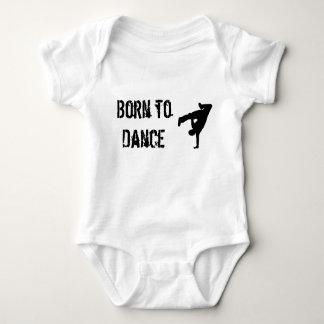 Born to Dance Baby Bodysuit