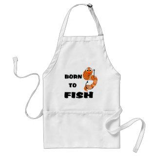 Born To Fish Standard Apron
