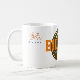 born to pedal bike-themed coffee mug