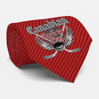 Born To Play (Canadian) Tie