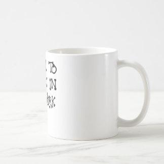BORN TO ROCK IN NEW YORK.png Coffee Mug