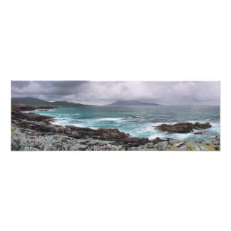 Borve and Taransay Outer Hebrides Art Photo