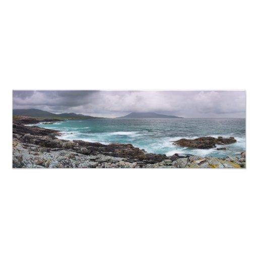 Borve and Taransay Outer Hebrides Art Photo