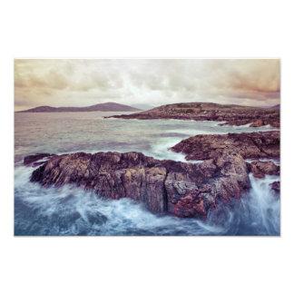 Borve Outer Hebrides Photographic Print