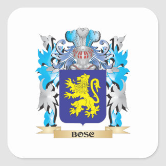 Bosc Coat of Arms Square Sticker