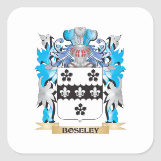 Boseley Coat of Arms Square Stickers
