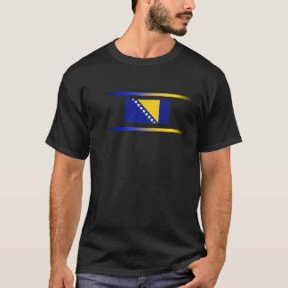 Bosnian Flag with Spectrum Lights T-Shirt