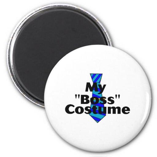 Boss Costume Magnets